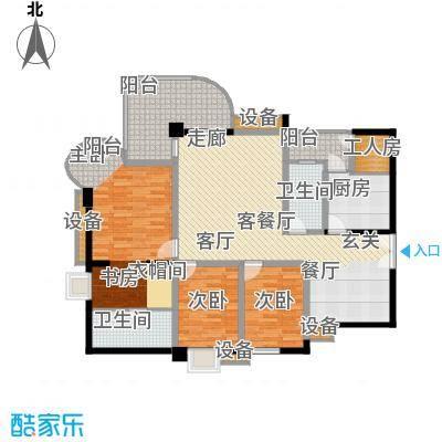 帝景名苑143.16㎡面积14316m户型