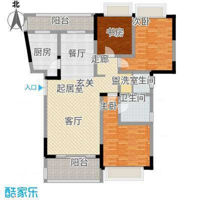 凤天锦园112.95㎡2面积11295m户型