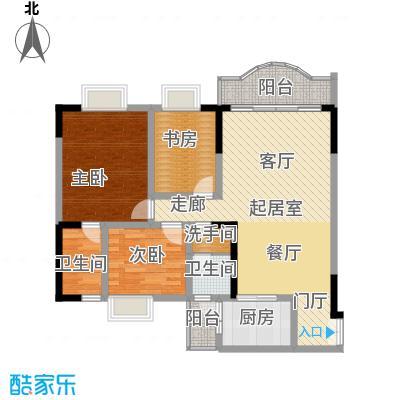 佳怡梧桐居98.66㎡面积9866m户型