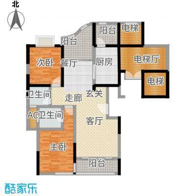 凤凰港蓝宝湾花园136.27㎡面积13627m户型