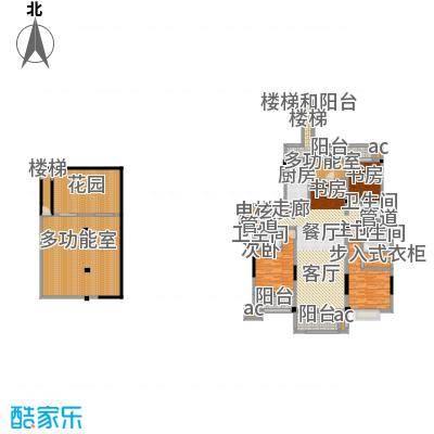 中海国际社区159.00㎡花园洋房标准层A2户型