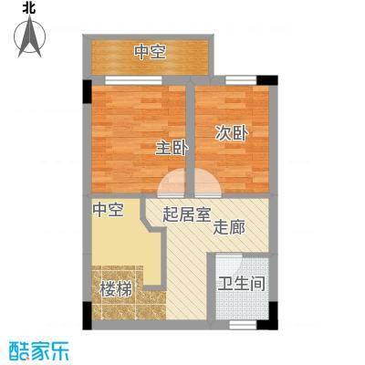 唐庄87.19㎡三、五、七复式顶层面积8719m户型
