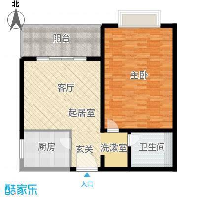 九杨新村90.00㎡1面积9000m户型