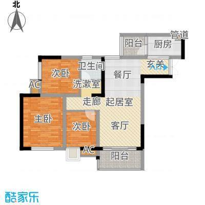 九杨新村93.00㎡面积9300m户型