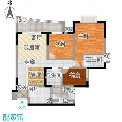 江山多娇滨江花园200.00㎡面积20000m户型