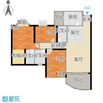 盛世家园143.75㎡面积14375m户型