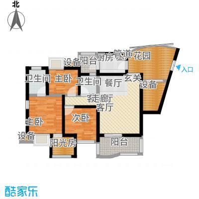 南方新城香榭里西苑95.13㎡面积9513m户型