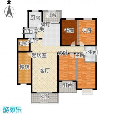 恒鑫花园148.00㎡面积14800m户型
