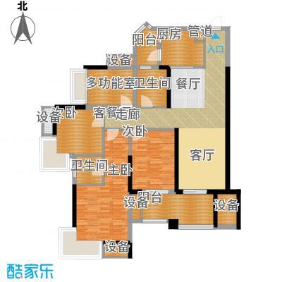 中海北滨华庭106.00㎡一期65号楼面积10600m户型