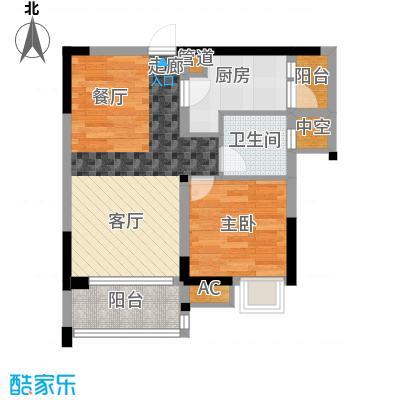 康田龙腾湾68.00㎡面积6800m户型