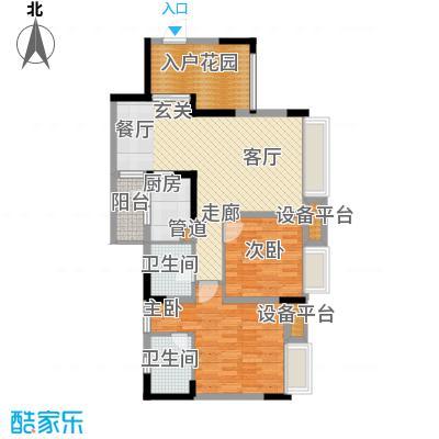 上城奥邻84.00㎡一期1、6号楼标面积8400m户型