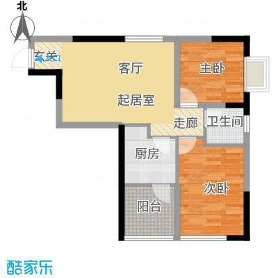 森柯一馨园58.05㎡4号房面积5805m户型