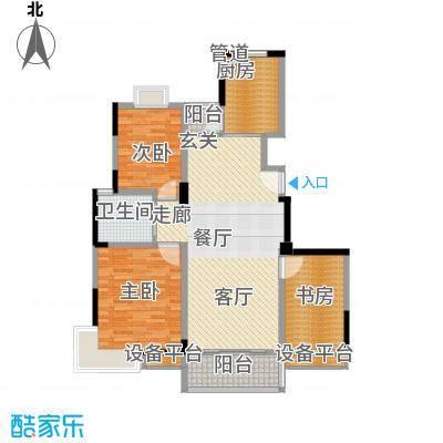 广博苑112.75㎡面积11275m户型
