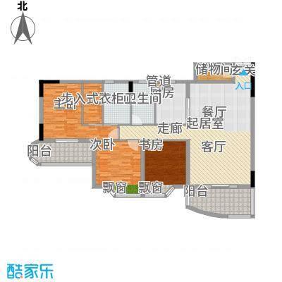 桂花景苑111.24㎡B栋B-5号面积11124m户型