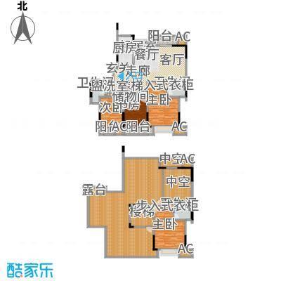 苏宁睿城131.26㎡一期1号楼18层B面积13126m户型