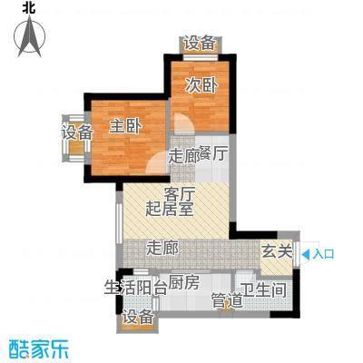 重庆国际家纺城绣色45.62㎡二期面积4562m户型