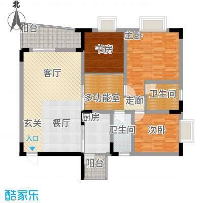 兴宇花园110.25㎡面积11025m户型