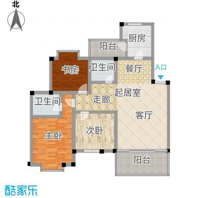 世纪阳光新尚城105.48㎡J型2面积10548m户型