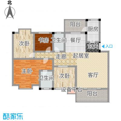 世纪阳光新尚城143.27㎡L型2面积14327m户型