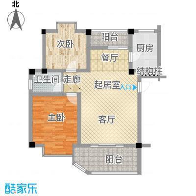 世纪阳光新尚城74.74㎡面积7474m户型