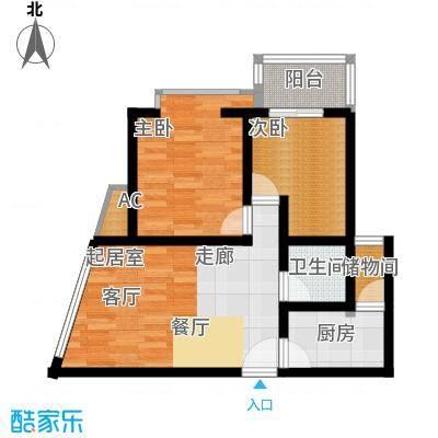 海宇依云香榭60.20㎡A5面积6020m户型