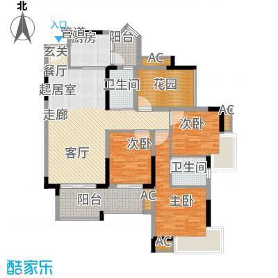 石韵桂园112.00㎡面积11200m户型
