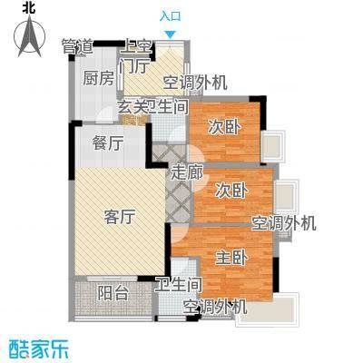 沛鑫四季香山3-5(D)户型