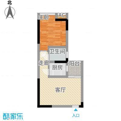 新上海大厦51.00㎡面积5100m户型