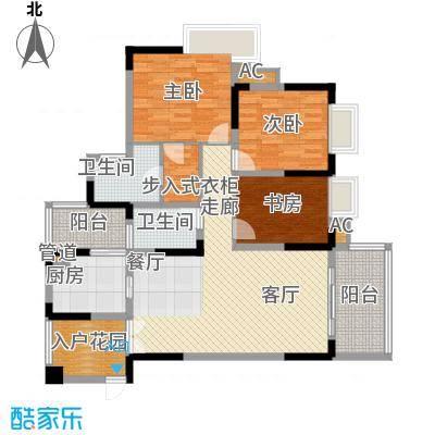 北城阳光今典103.62㎡4号楼1号房面积10362m户型