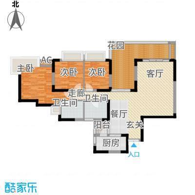 北城阳光今典112.79㎡2幢1/2号房面积11279m户型