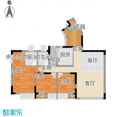 北城阳光今典108.35㎡1幢3/4号房面积10835m户型