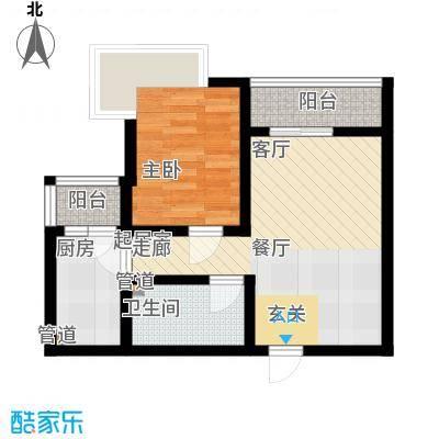 国宾豪庭144.22㎡一期J型面积14422m户型