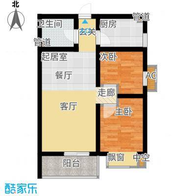 国宾豪庭52.86㎡G面积5286m户型