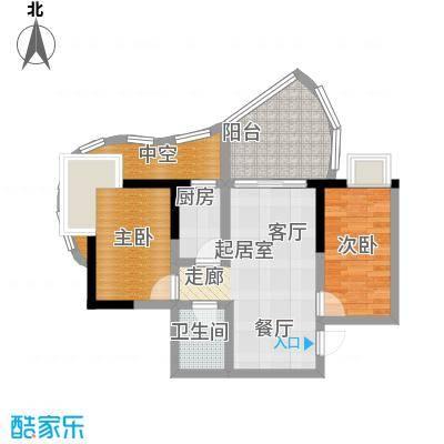 嘉韵山水城64.50㎡C型面积6450m户型