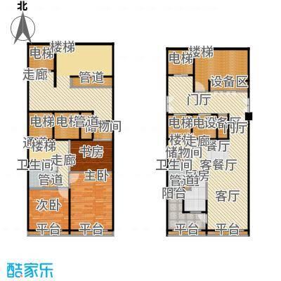 金地自在城91.00㎡二期2、5、6栋1-28层E户型