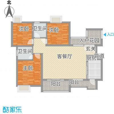 协信彩云湖138.00㎡面积13800m户型