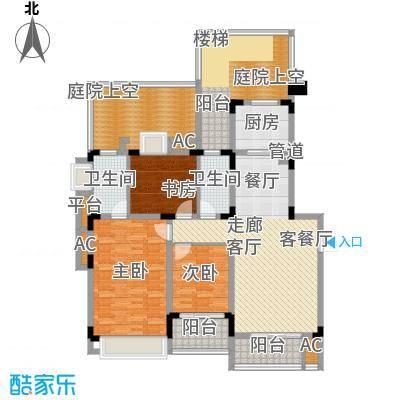 同景国际城恋山102.25㎡E2F2面积10225m户型
