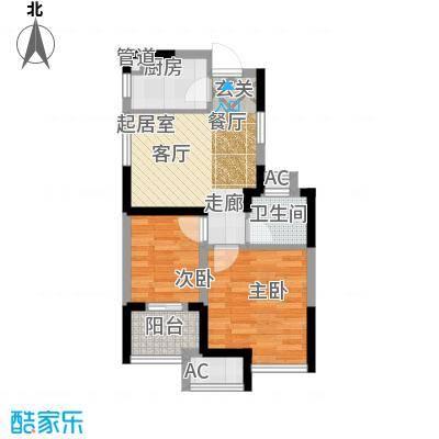 万汇新城经济适用房55.00㎡经济适用房户型