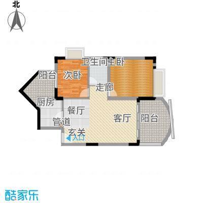 尚阳康城80.00㎡B31面积8000m户型