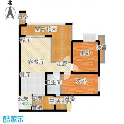 工农大厦93.00㎡面积9300m户型