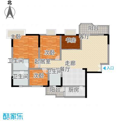 黄桷园169.45㎡面积16945m户型