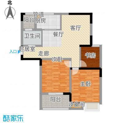 天工琴露园94.00㎡面积9400m户型