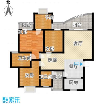 锦绣江南121.23㎡面积12123m户型
