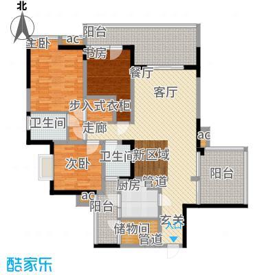 锦绣江南113.64㎡9号楼A面积11364m户型