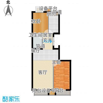 斌鑫新华苑75.00㎡面积7500m户型