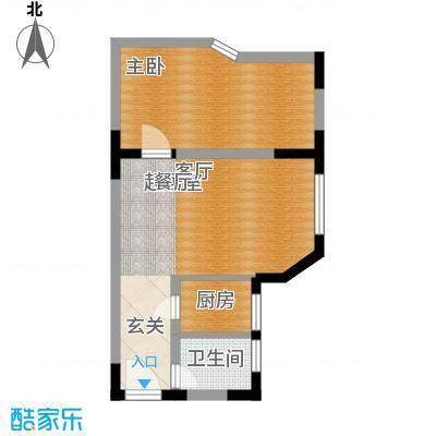 西亚怡顺佳苑41.66㎡4面积4166m户型