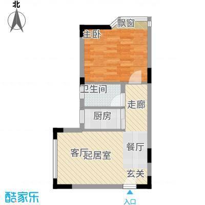 西亚怡顺佳苑43.98㎡7面积4398m户型