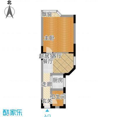 西亚怡顺佳苑41.63㎡9面积4163m户型