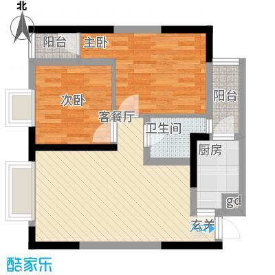 金象左右SOLO公寓57.01㎡B1面积5701m户型