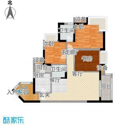 润安五月花房91.95㎡A面积9195m户型
